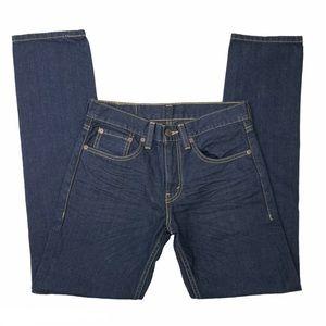 Levis 511 Slim Fit Dark Wash Jeans Size 29 x 32